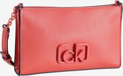 Calvin Klein Crossbody Bag 'Signature' in Coral / Black, Item view