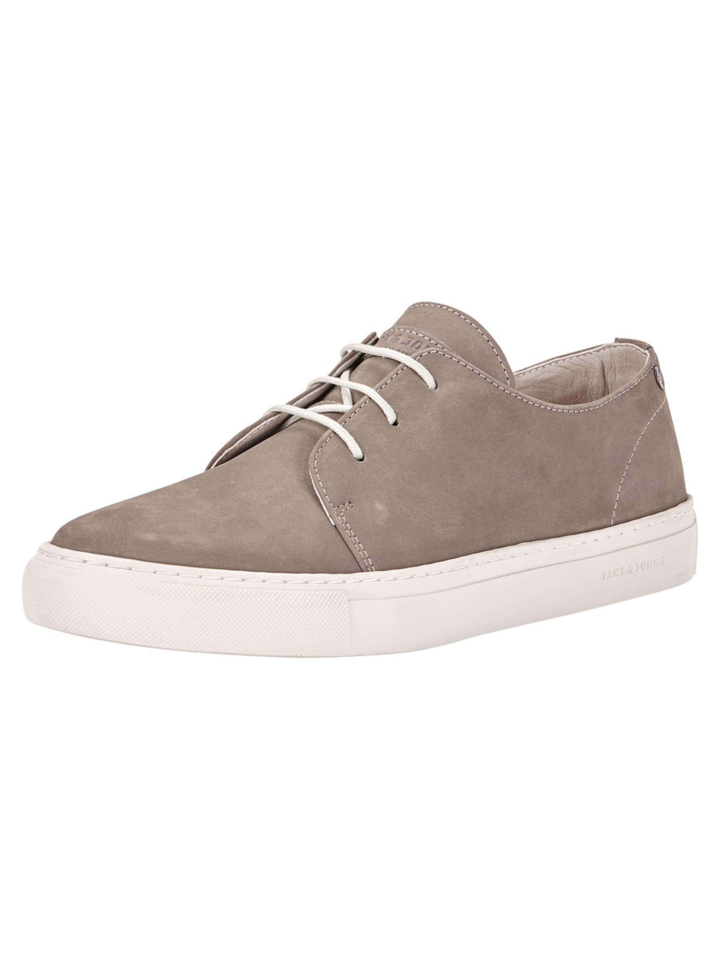 JACK & JONES Leder Sneaker Hohe Qualität