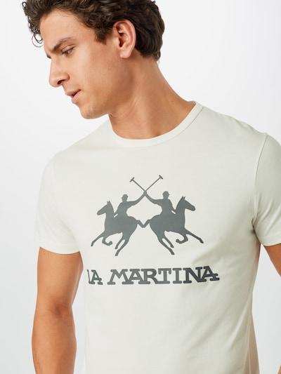 La Martina Majica u bijela: Prednji pogled