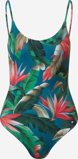 Tommy Hilfiger Underwear Jednodielne plavky 'ONE-PIECE' - zelená / zmiešané farby, Produkt