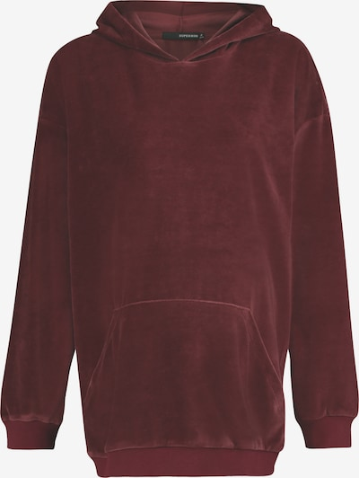 Supermom Sweatshirt in de kleur Pitaja roze, Productweergave