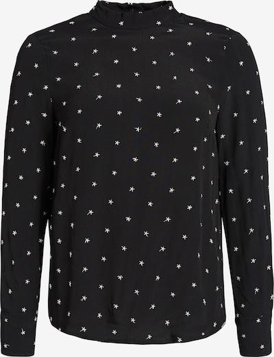 khujo Blouse 'Carlotta' in de kleur Zwart / Wit, Productweergave