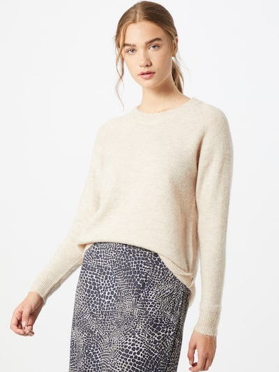SELECTED FEMME Pullover in beige: Frontalansicht