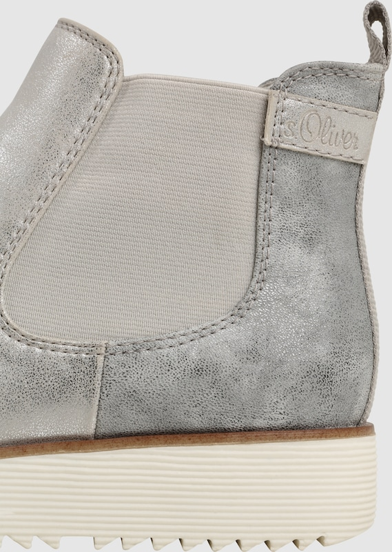 s.Oliver Metallic-Finish RED LABEL Chelsea-Stiefelette mit Metallic-Finish s.Oliver fe3571