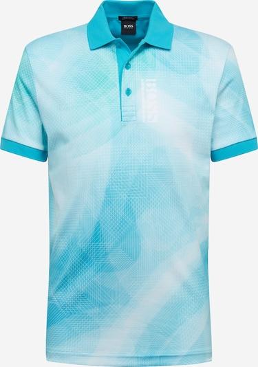 BOSS ATHLEISURE Poloshirt 'Paddy 6' in blau / weiß, Produktansicht