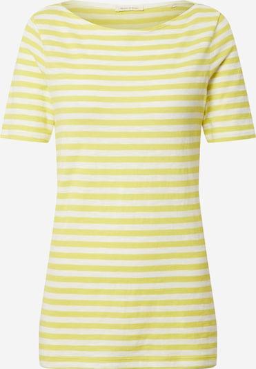 Marc O'Polo Shirt in zitrone / weiß, Produktansicht