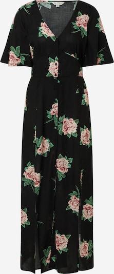 Miss Selfridge Kleid in rosa / schwarz: Frontalansicht