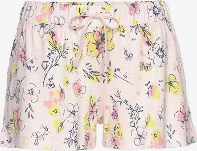 s.Oliver Pyžamové kalhoty - žlutá / tmavě zelená / světle růžová, Produkt