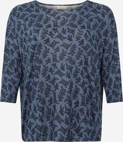 ONLY Carmakoma Shirt 'ALBA' in marine / taubenblau, Produktansicht