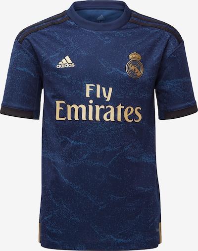 ADIDAS PERFORMANCE Fußballtrikot 'Real Madrid 19/20 Auswärts' in indigo / gold, Produktansicht