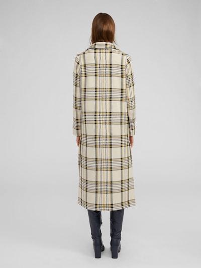 Rudeninis-žieminis paltas 'Graham' iš EDITED , spalva - tamsiai mėlyna / balkšva: Vaizdas iš galinės pusės