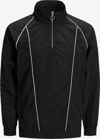 JACK & JONES Jacke in schwarz / weiß, Produktansicht