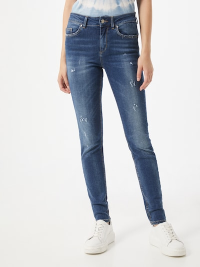 LIU JO JEANS Jeans 'DIVINE' in blue denim, Modelansicht