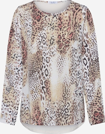 ZABAIONE Bluza 'Louise' | mešane barve / off-bela barva, Prikaz izdelka