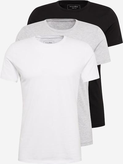 TOM TAILOR DENIM Shirt in de kleur Grijs / Zwart / Wit, Productweergave