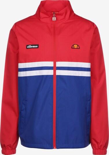 ELLESSE Trainingsjacke in blau / rot / weiß, Produktansicht