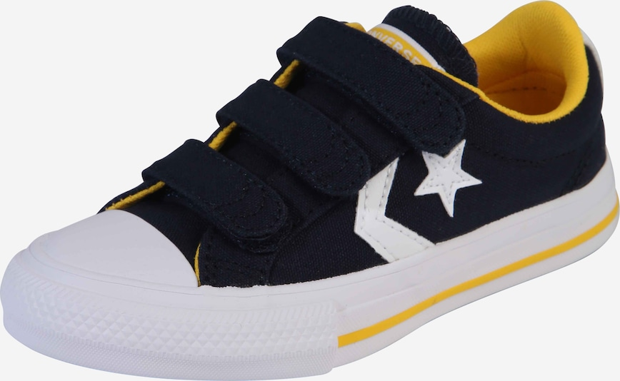 CONVERSE Sneaker  'STAR PLAYER 3V CANVAS - OX' in blue denim, Produktansicht
