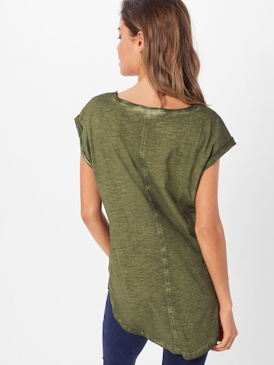 Urban Classics Shirt in oliv: Rückansicht