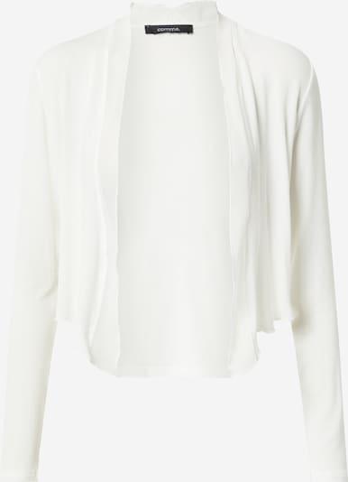 COMMA Sweatvest in de kleur Wit, Productweergave