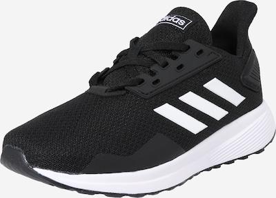 ADIDAS PERFORMANCE Sportschoen 'Duramo 9 K' in de kleur Zwart / Wit, Productweergave