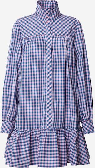 Custommade Košulja haljina 'Elorie' u plava / svijetloljubičasta, Pregled proizvoda