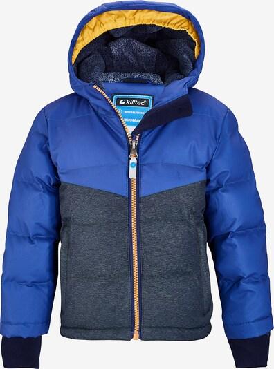 KILLTEC Outdoorjacke in blau / grau, Produktansicht