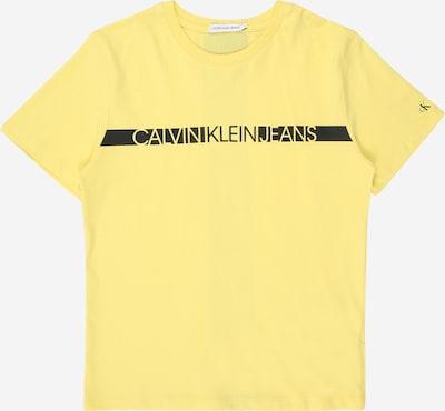 Calvin Klein Jeans Shirt in gelb, Produktansicht