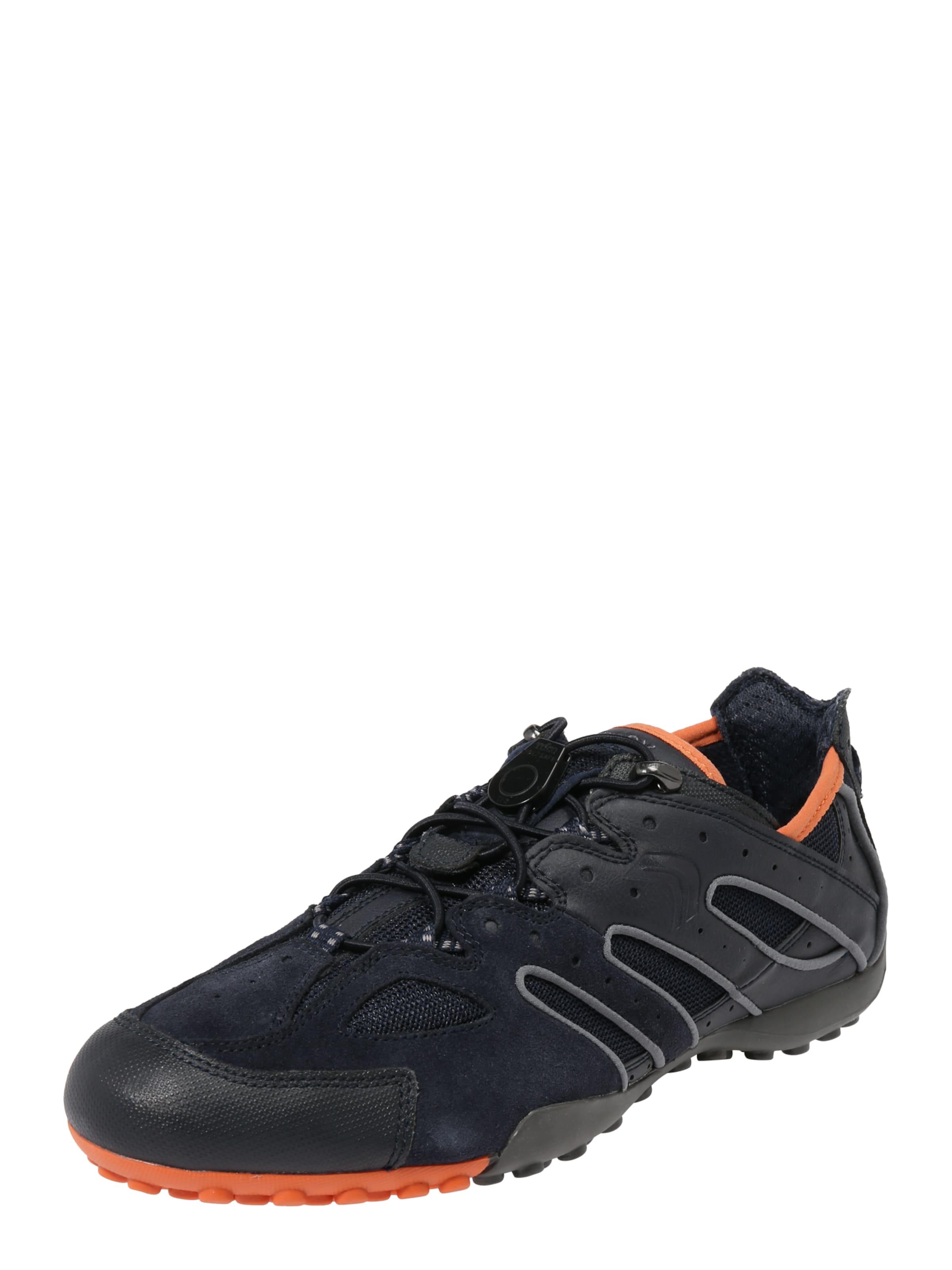 Sneaker 'uomo Snake' DunkelorangeSchwarz In Geox fgy76bY