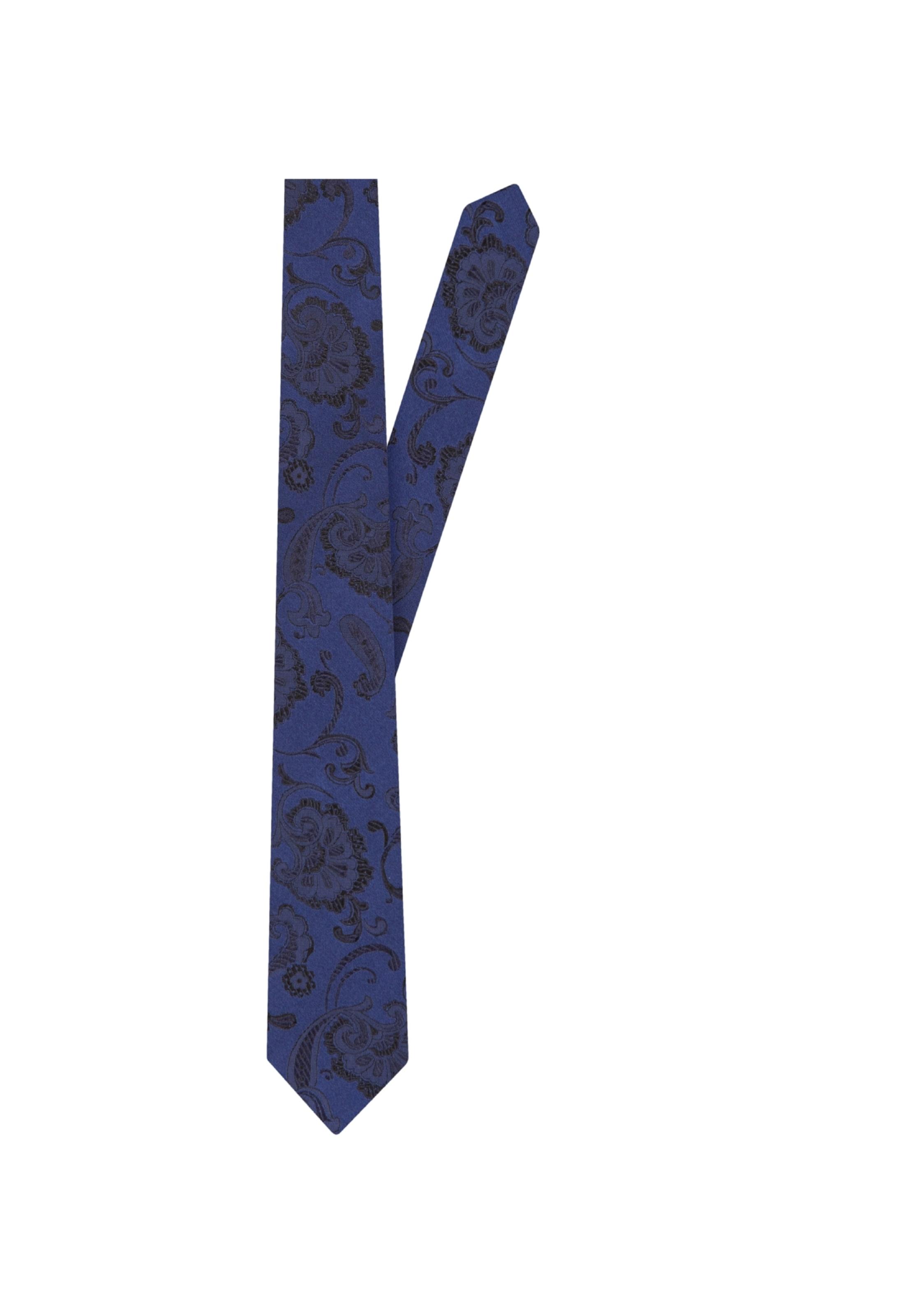 Rose' En 'schwarze Bleu Seidensticker Cravate FoncéNoir fgbyY76v
