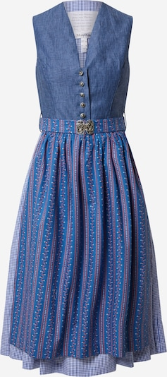 MONDKINI Dirndl in blue / purple / red / white, Item view
