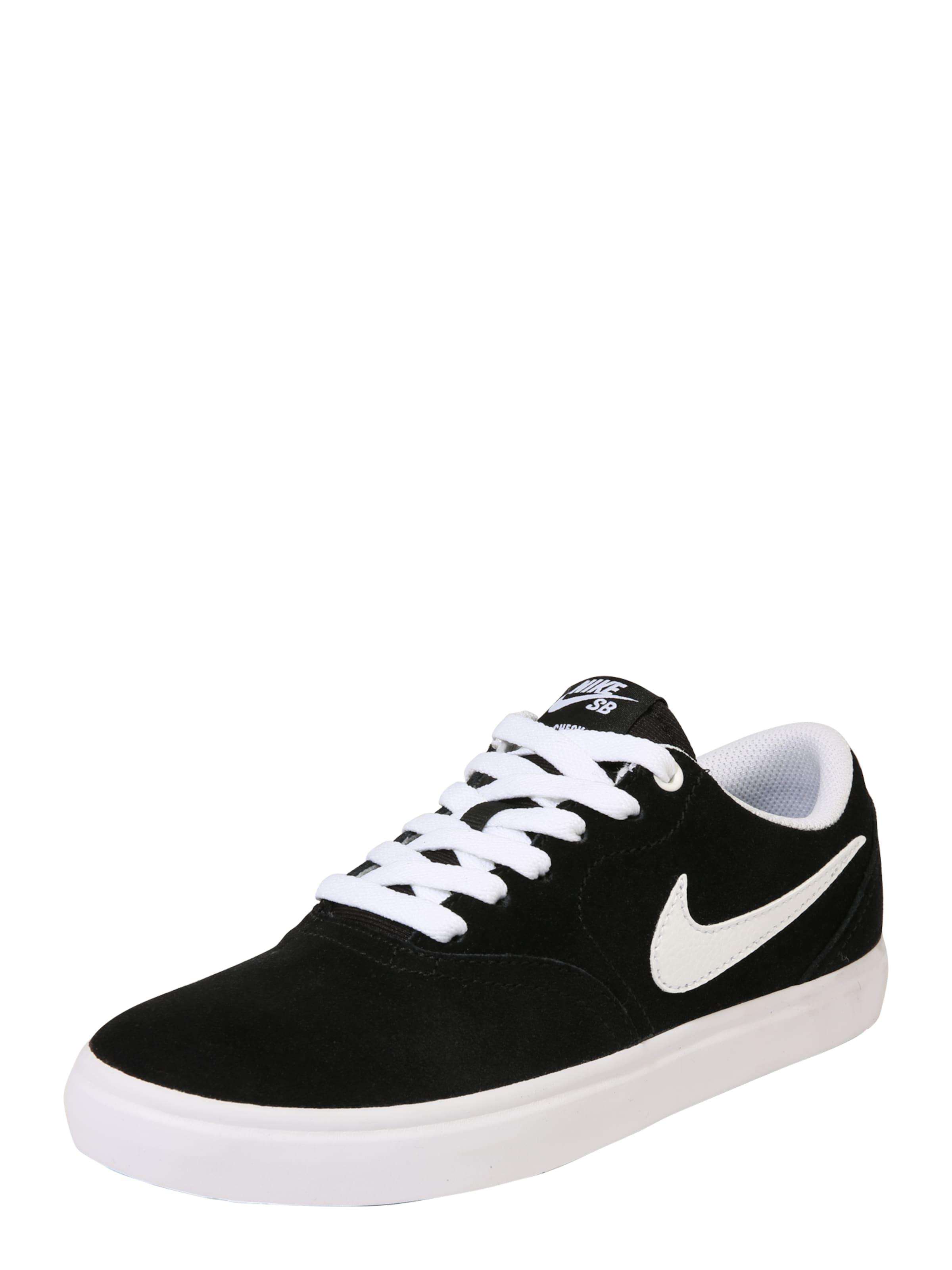 In Sb SchwarzWeiß Nike Sneaker 'check Solar' c4jAR53LqS