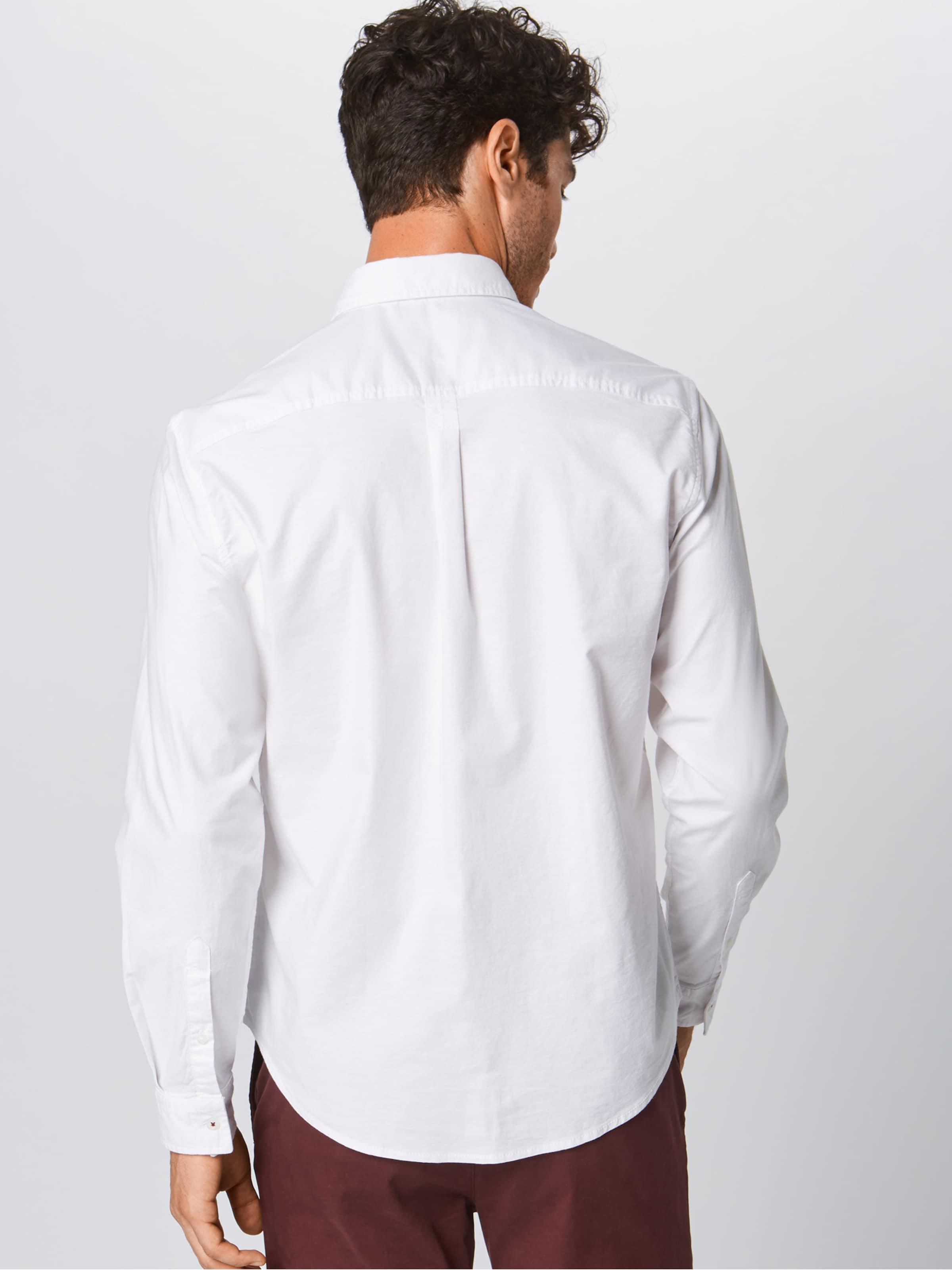 Oxfd 'f En By Edc ' Esprit Business Blanc Chemise Solid lcF1uK3TJ
