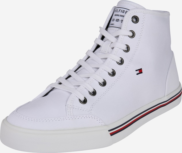 TOMMY HILFIGER Sneaker 'Core Corporate' in weiß, Produktansicht