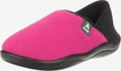 Kamik Hausschuhe 'Cozytime' in pink / schwarz, Produktansicht