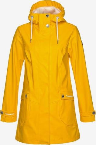 KangaROOS Regenjacke in Gelb