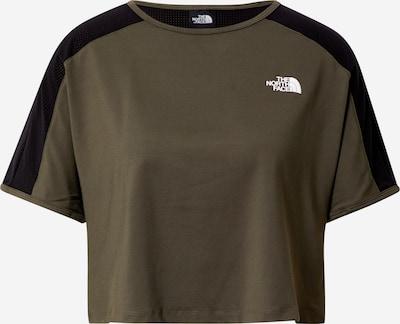 THE NORTH FACE Koszulka funkcyjna 'ACTIVE TRAIL' w kolorze oliwkowy / czarnym, Podgląd produktu
