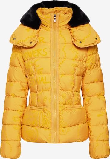 Desigual Winterjas 'PADDED_SUNNA' in de kleur Geel, Productweergave