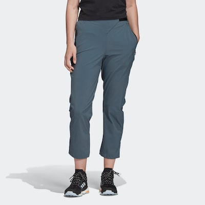 ADIDAS PERFORMANCE Sportbroek in de kleur Smoky blue, Productweergave