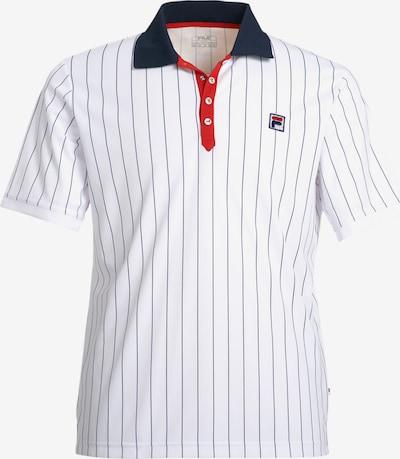 FILA Sportshirt in nachtblau / rot / weiß, Produktansicht