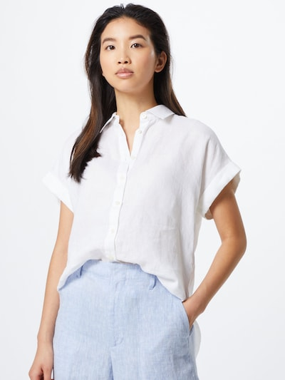 Lauren Ralph Lauren Halenka 'BROONO-SHORT SLEEVE-SHIRT' - bílá, Model/ka
