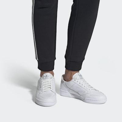 ADIDAS ORIGINALS Sneaker in silber / weiß: Frontalansicht