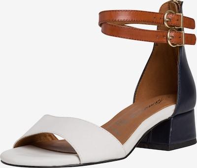 TAMARIS Sandalette in blau / braun / weiß, Produktansicht