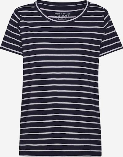 ESPRIT T-Shirt in navy / weiß, Produktansicht