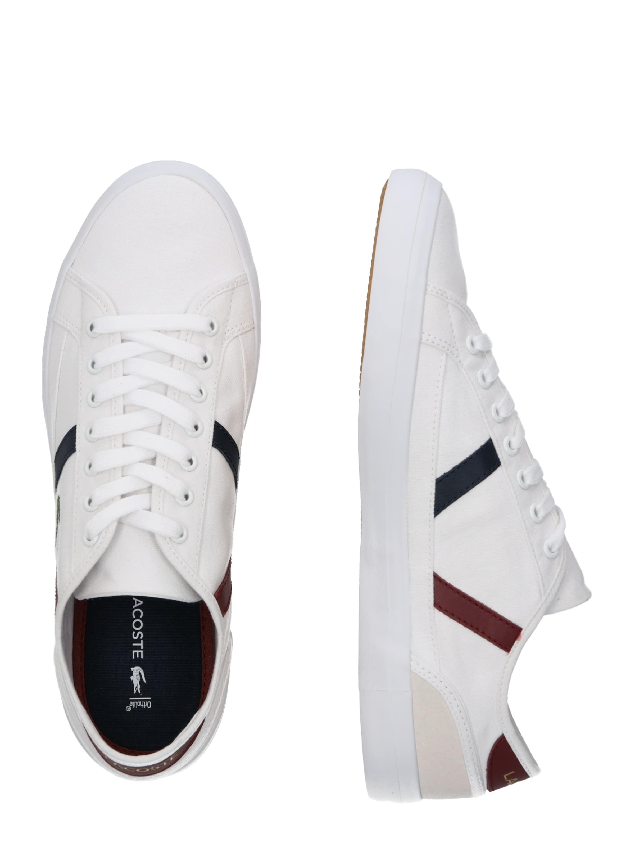 319 4 Weiß 'sideline Lacoste In Cma' Sneaker 80XknwOP