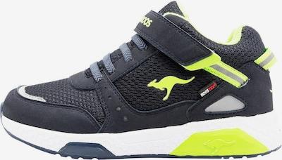 KangaROOS Sneaker 'Kadee Taro RTX' in dunkelblau / limette, Produktansicht