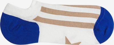 Tag SOCKS Chaussons en bleu / noisette / blanc, Vue avec produit