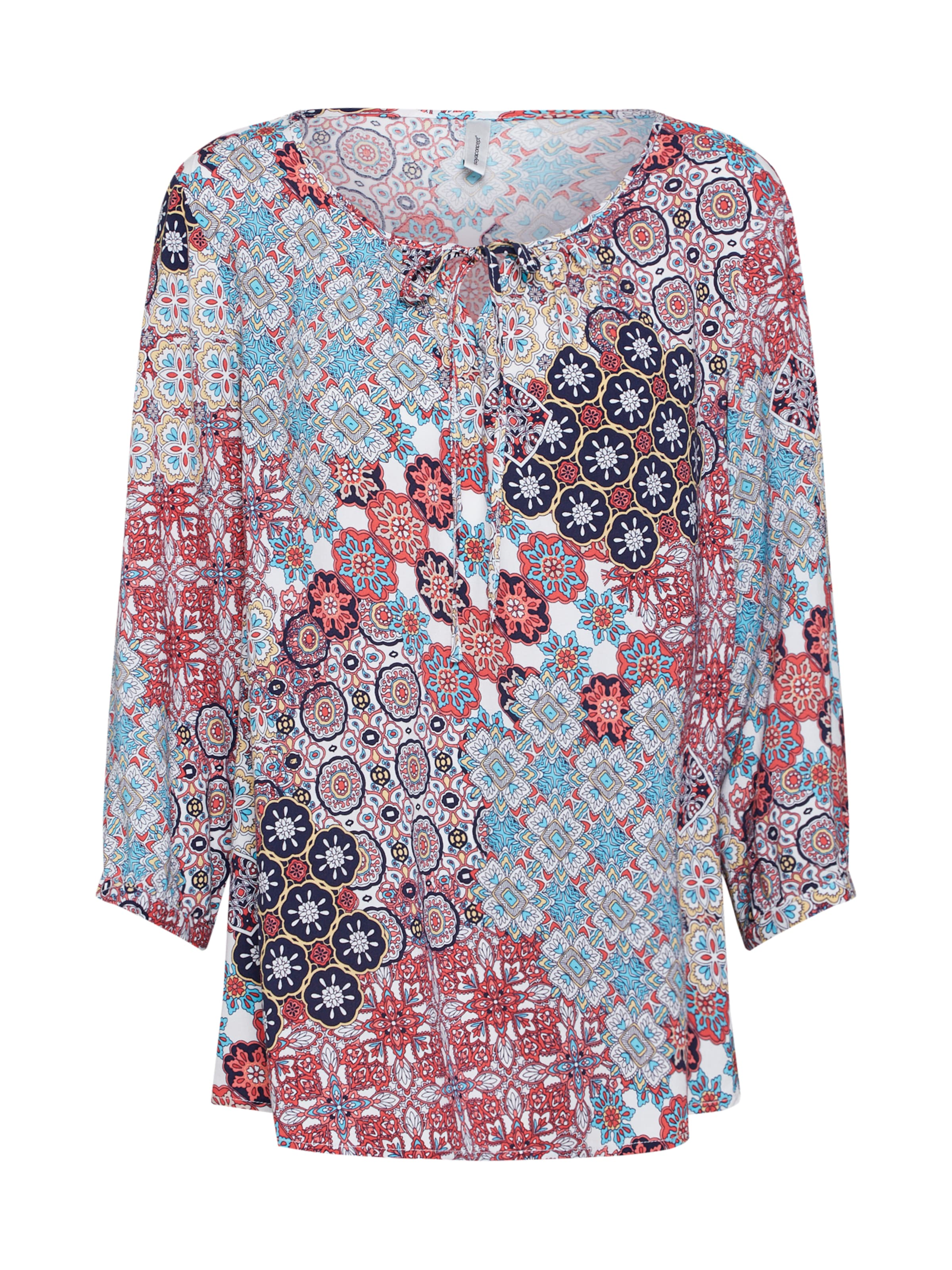 Bluse Soyaconcept MischfarbenRot 'vienna' In Bluse Soyaconcept UzVqpSM