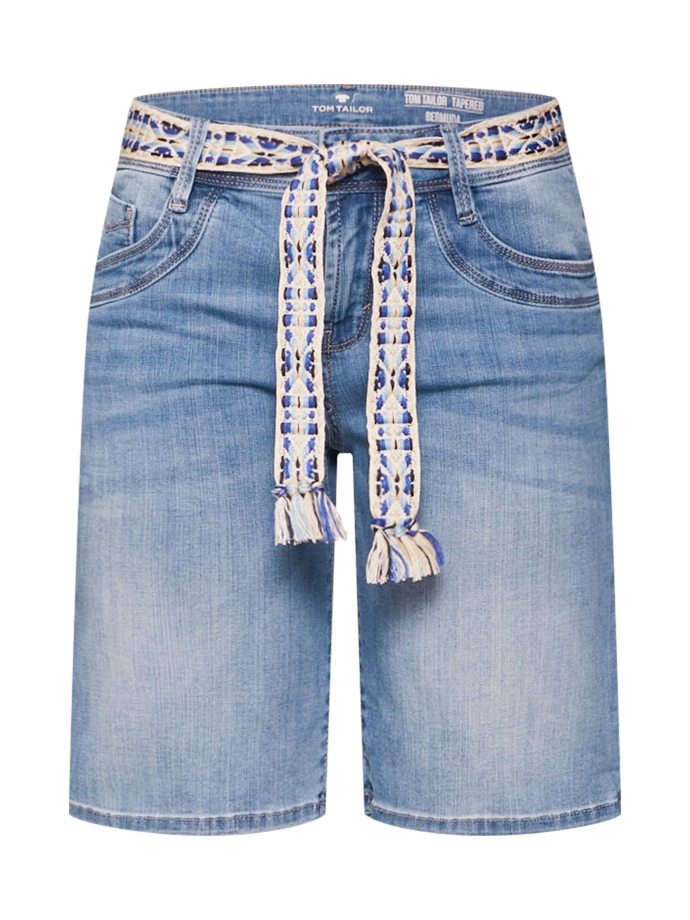 In Tom Tailor Shorts Blue Denim doeBWrCx