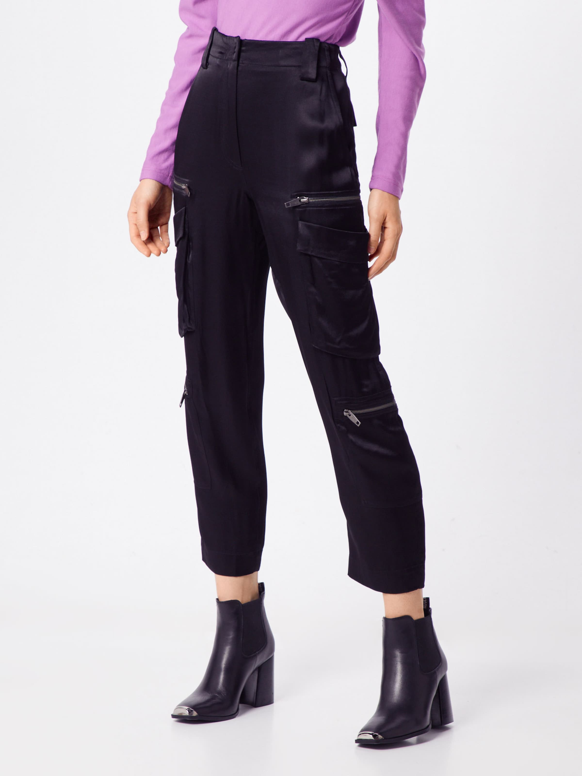 Pantalon En Noir The Kooples Cargo QrexCBdoWE