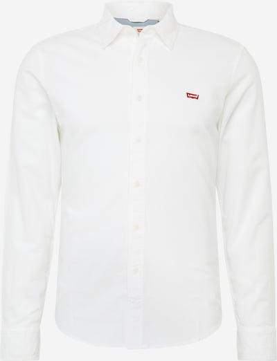 LEVI'S Skjorta 'LS BATTERY HM' i vit, Produktvy